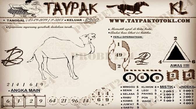TAYPAK TOTOKL P-3203