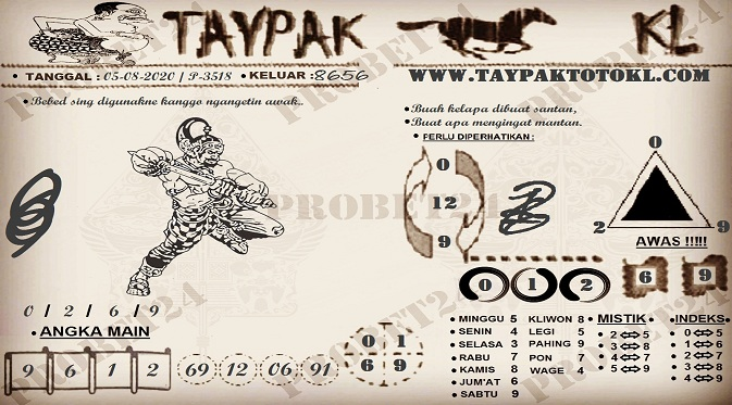 TAYPAK TOTOKL 3518