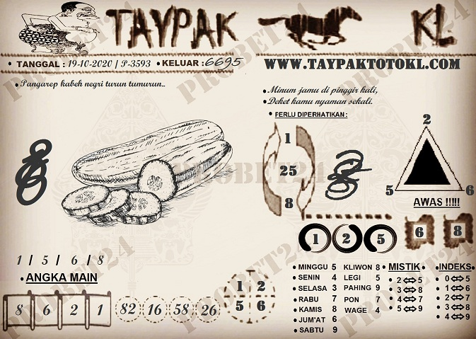 TAYPAK TOTOKL 3593
