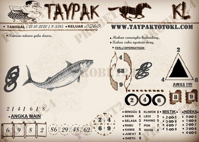 TAYPAK TOTOKL 3595