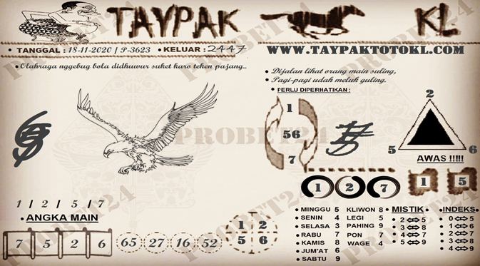 TAYPAK TOTOKL 3623-1