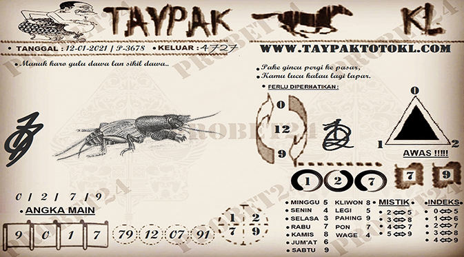 TAYPAK TOTOKL 3678-1