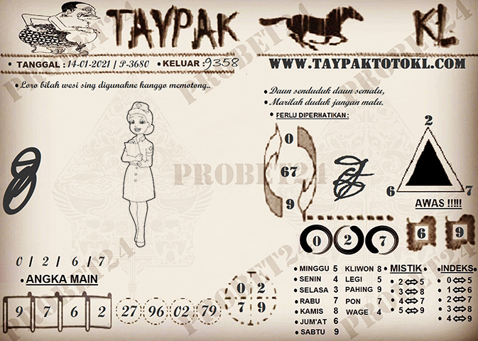 TAYPAK TOTOKL 3680