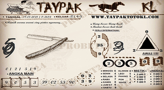 TAYPAK TOTOKL 3684-1