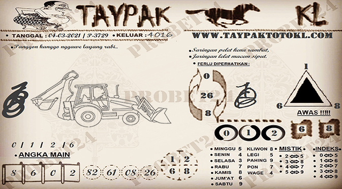 TAYPAK TOTOKL 3729-1
